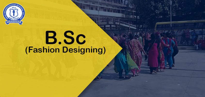 B.Sc.(Fashion Designing)