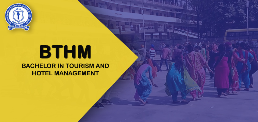 Bachelor in Tourism and Hotel Management | SSM College