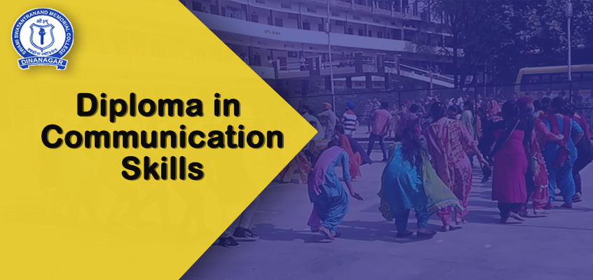 Diploma in communication skills