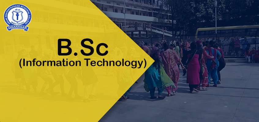 Best B.Sc IT College In Punjab
